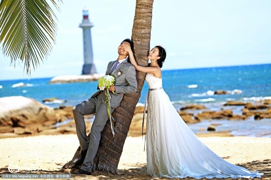 三亚海景婚纱照——灯塔