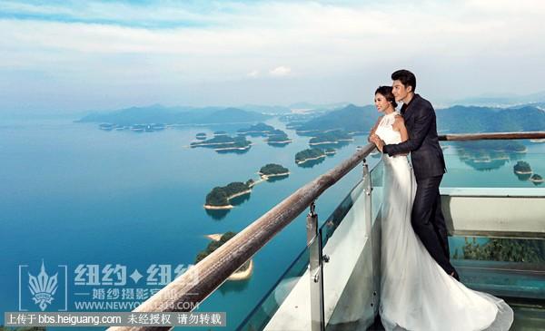 千岛湖婚纱摄影-千岛湖纽约纽约婚纱是千岛湖最好的婚纱.