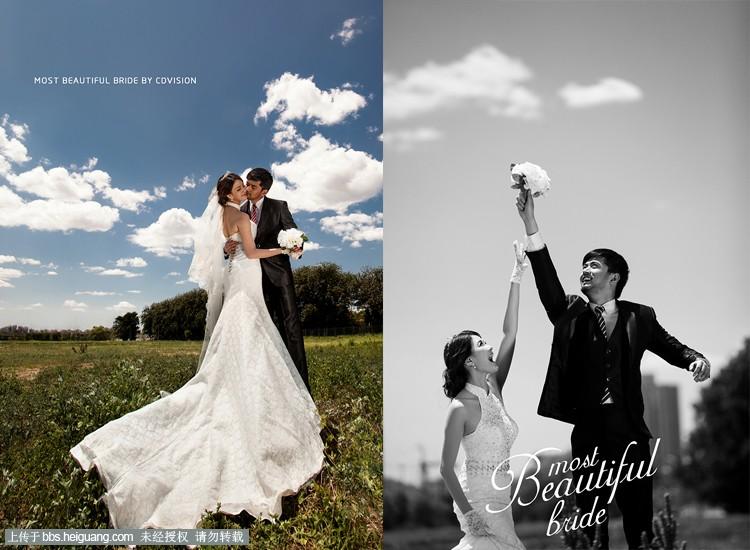 这样的婚纱照超美 北京CD视觉婚纱摄影作品