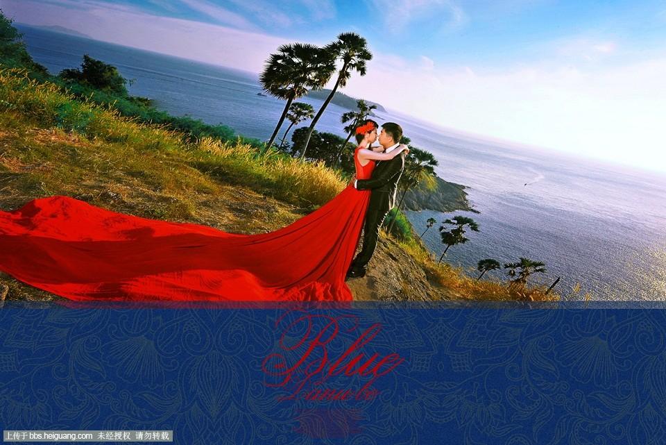 梦寐以求的普吉岛婚纱照,终于出来了,激动ing