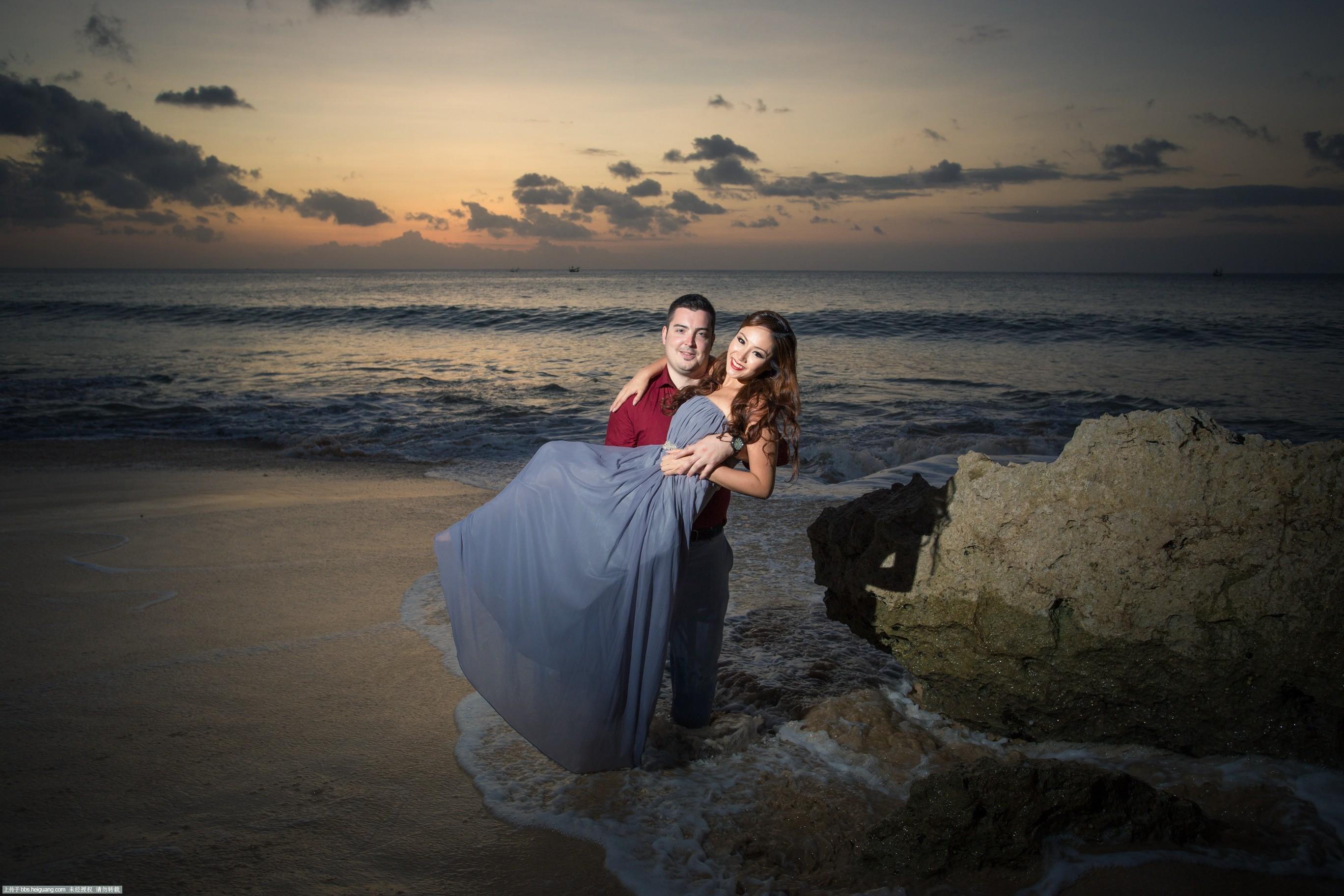 巴厘岛婚纱拍摄-海瑟薇
