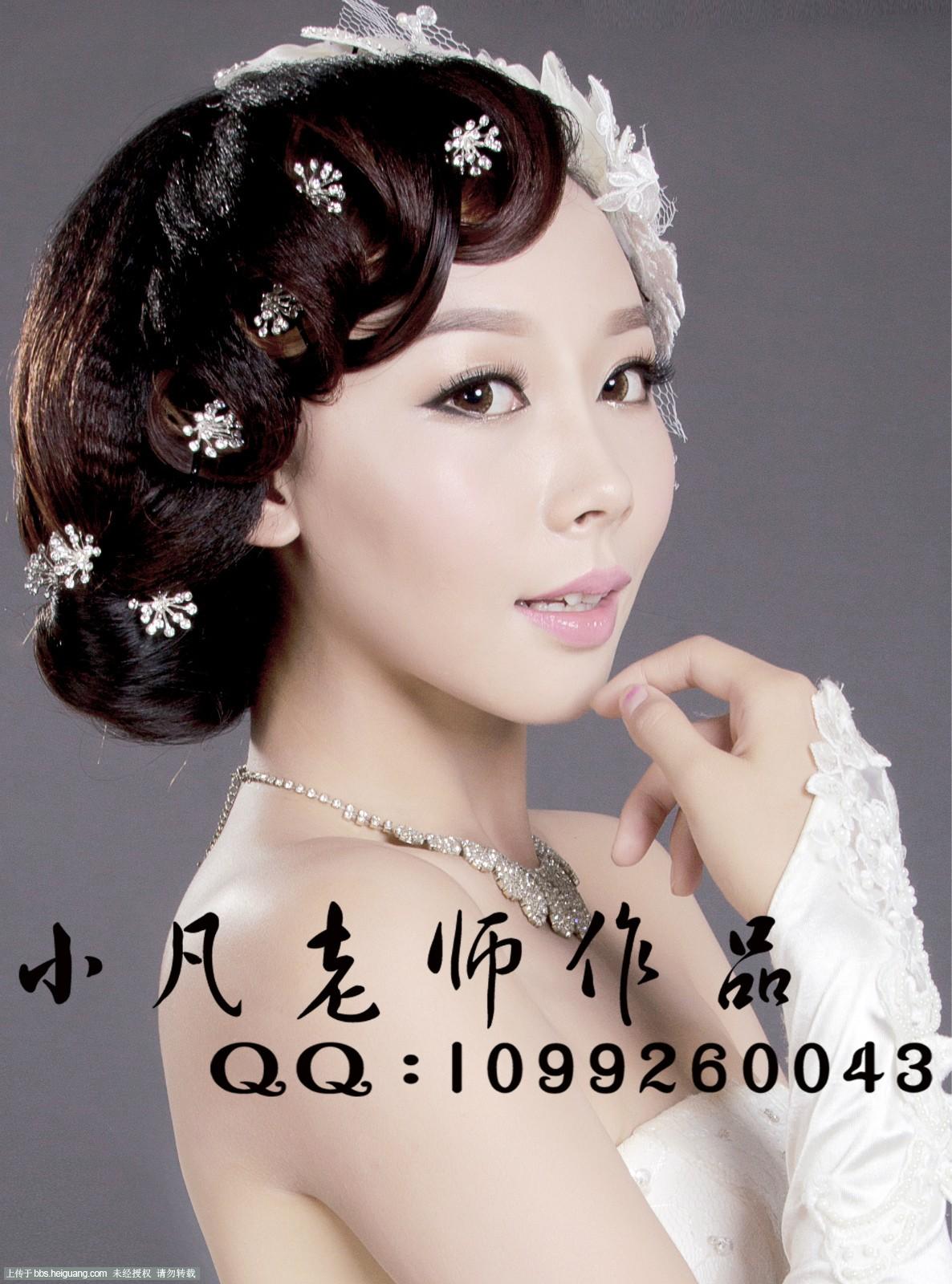 发型设计_化妆造型作品