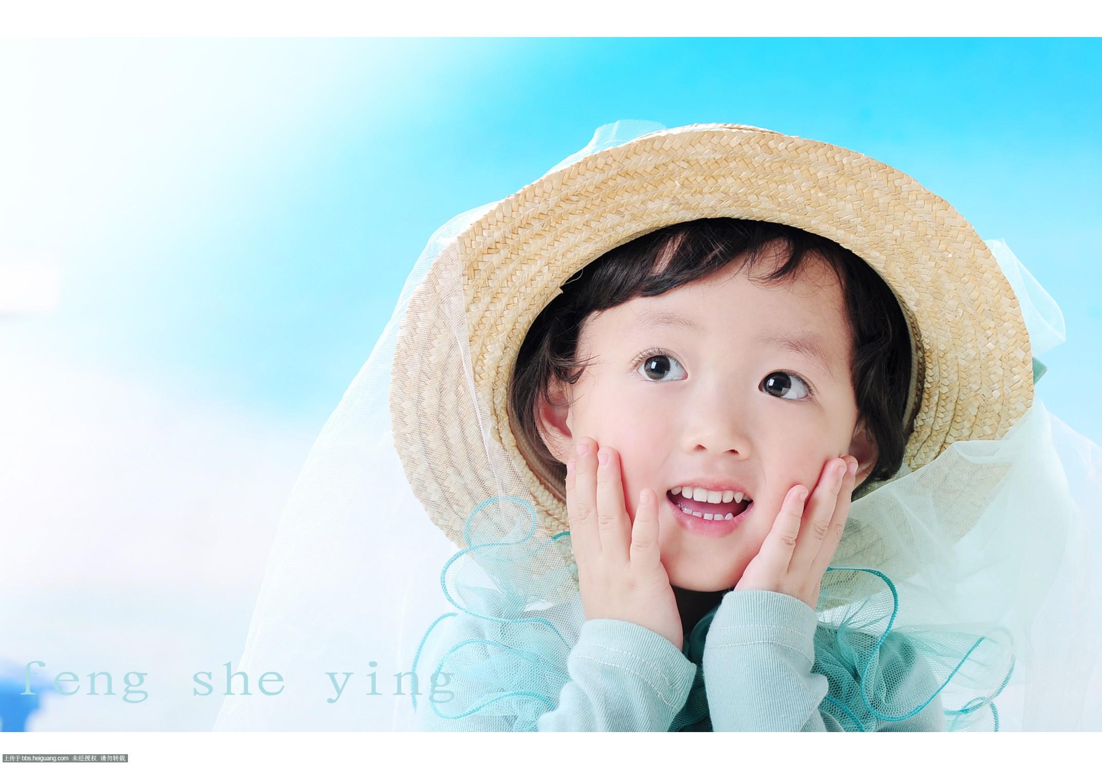 可爱女孩_儿童摄影作品_黑光论坛