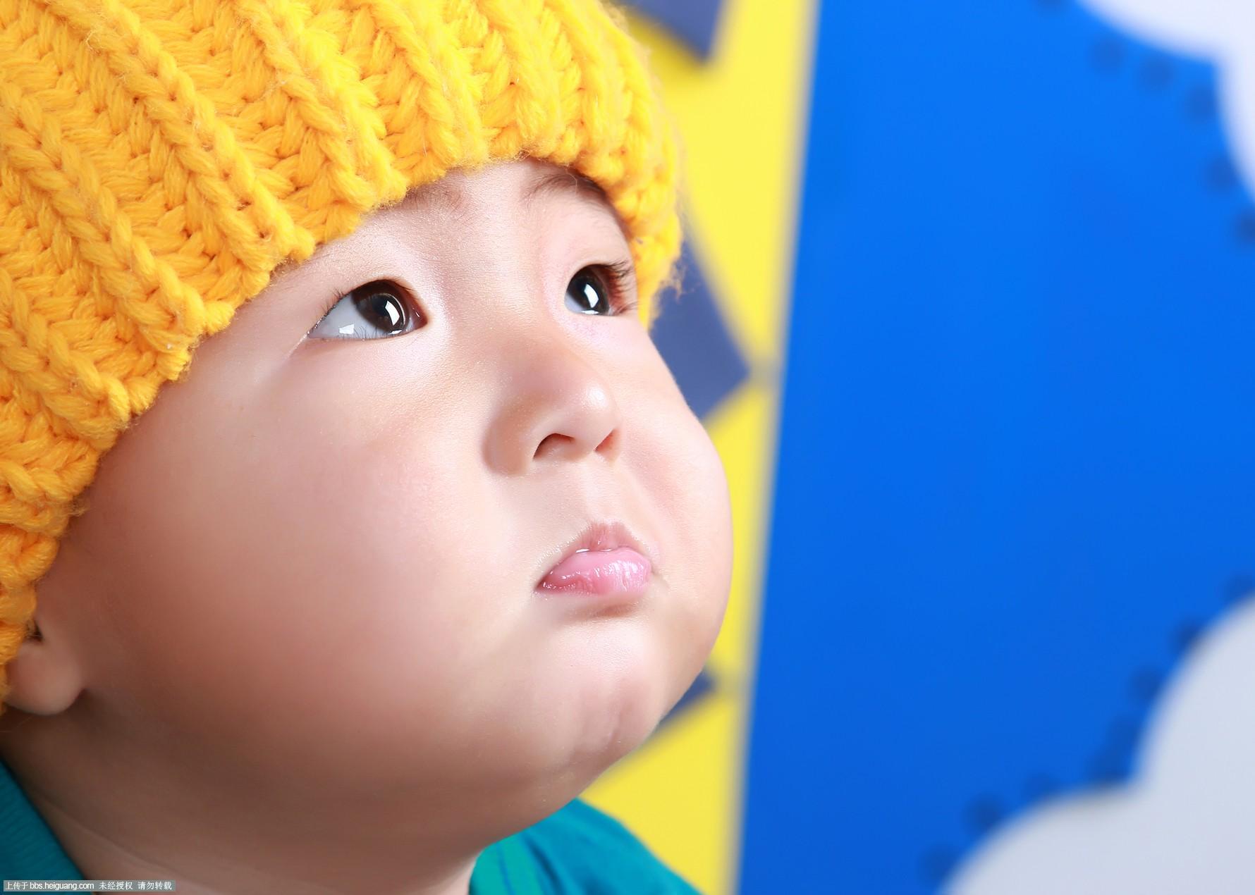可爱孩子高兴图片