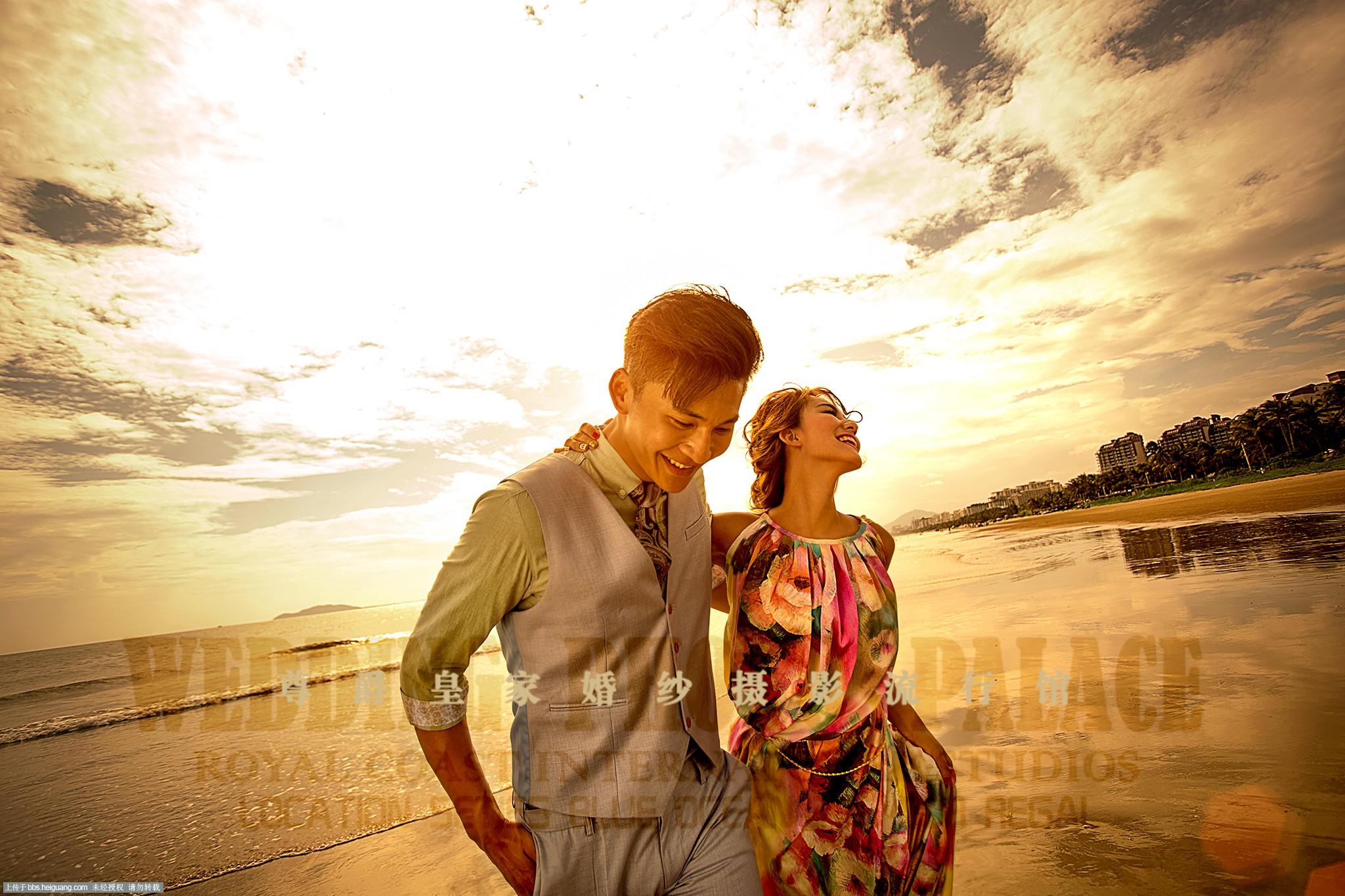 三亚婚纱摄影,三亚凤凰岛婚纱照