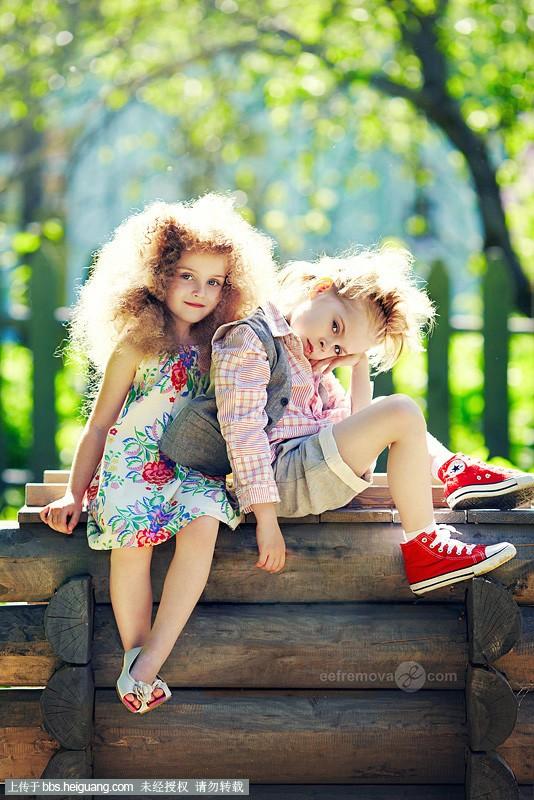 国外儿童写真