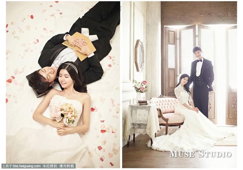 上海韩国慕色婚纱摄影—《太阳公主》之那时花开系列