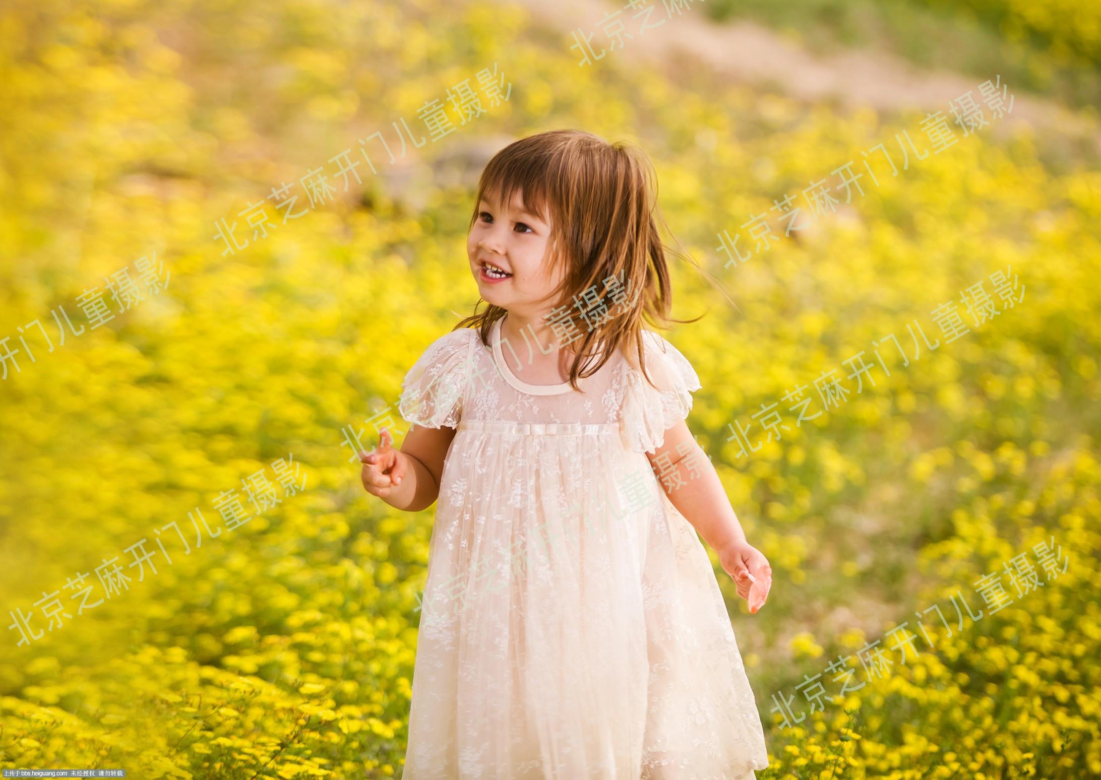 花儿朵朵-北京芝麻开门facememo儿童摄影作品