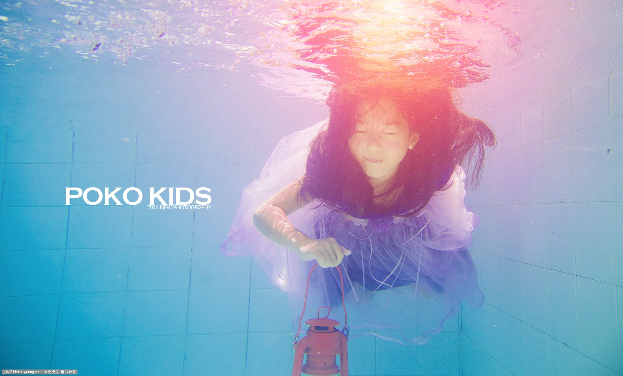 人鱼公主-柏蔻童年儿童摄影