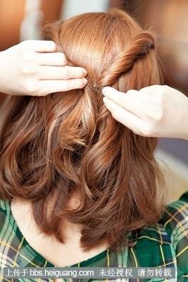 花式梳头发好看步骤图解