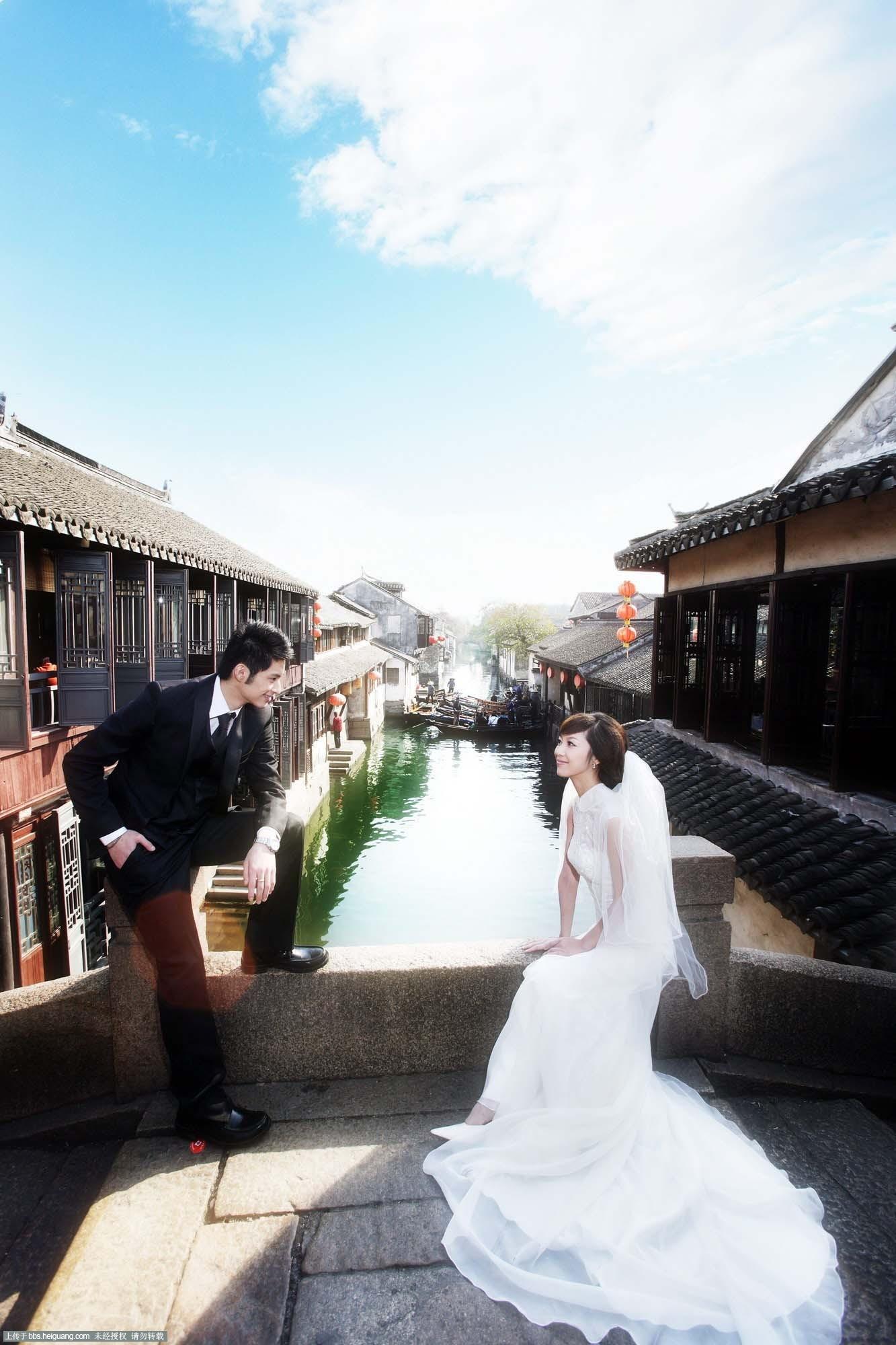 男士婚纱摄影造型图片