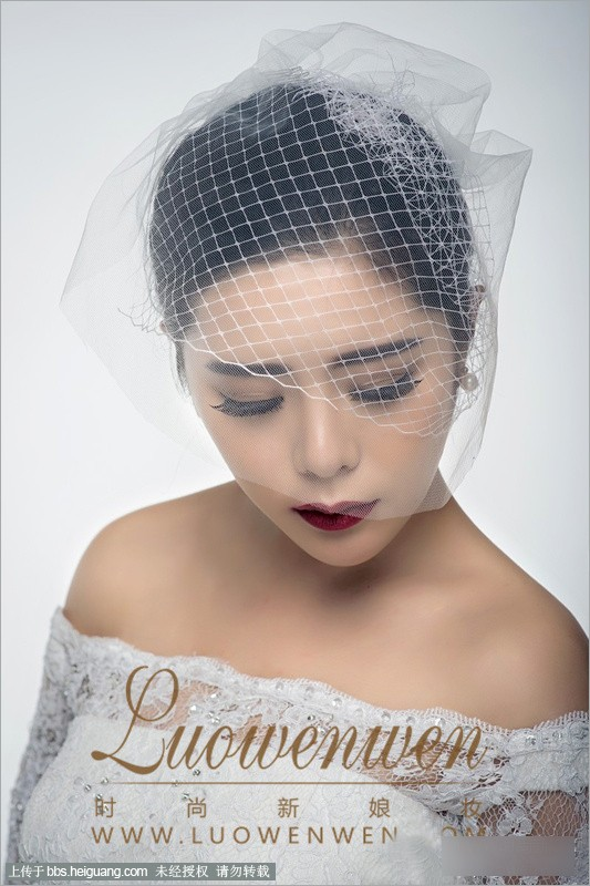 2014夏季时尚新娘妆化妆造型组图欣赏_黑光网摄影图片
