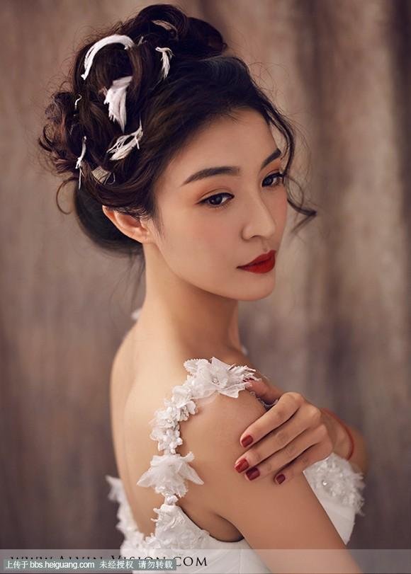 2014最新复古风新娘造型欣赏