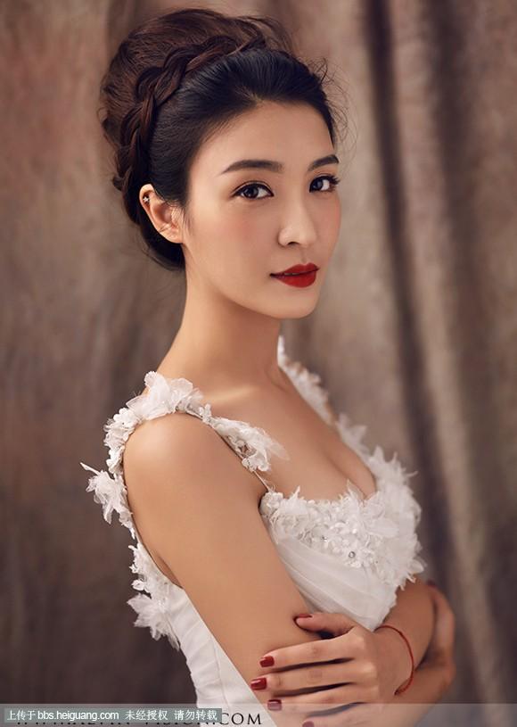 2014最新复古风新娘造型欣赏_化妆造型作品_黑光论坛