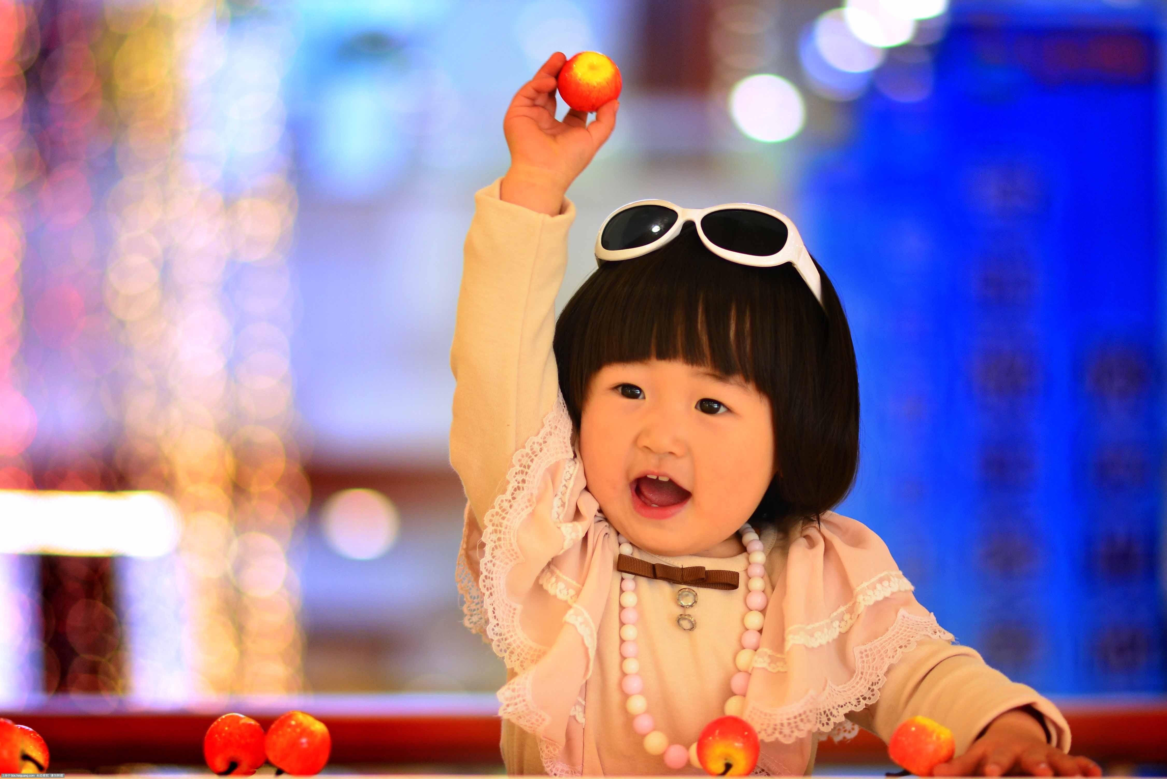 商场外景_儿童摄影作品