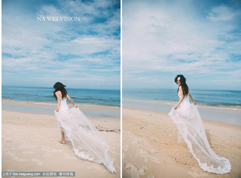 普吉岛-雨后的晴空_婚纱摄影作品