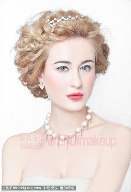 2014优雅唯美欧式新娘造型组图欣赏