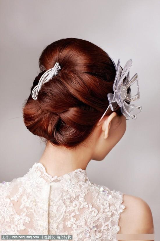 2014韩式新娘发型 营造不同的浪漫风情