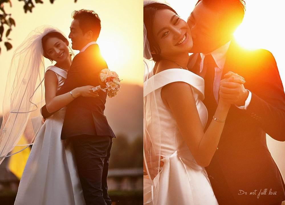 南京婚纱摄影欧式庄园个性婚纱照