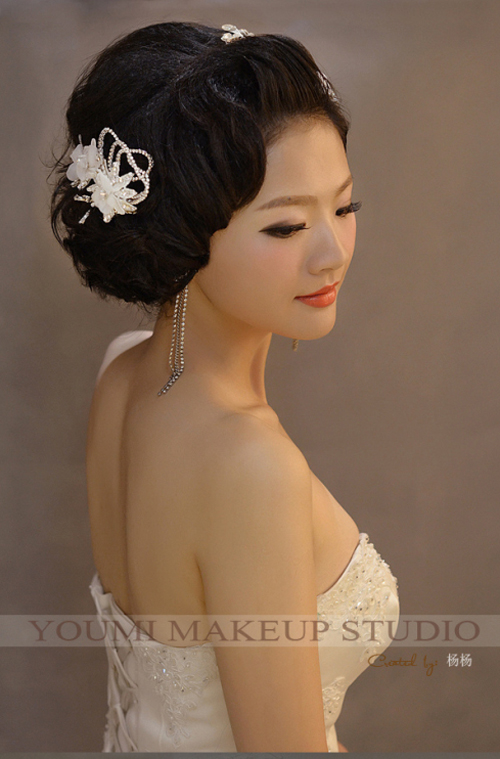 2014新娘结婚当天造型组图欣赏
