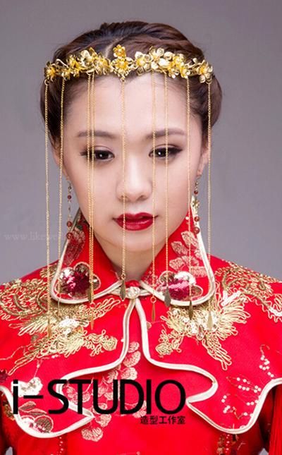 中国风新娘妆造型组图欣赏图片