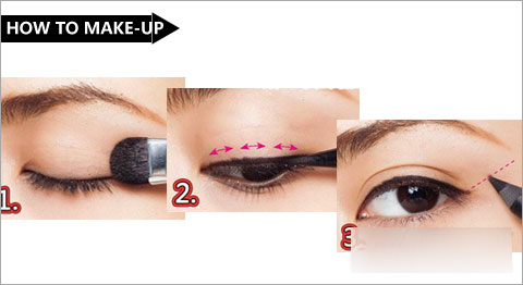 时尚洛丽塔----6种眼线画法详解 画出性感媚眼图片
