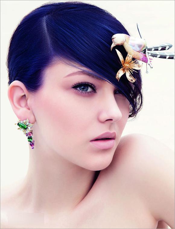 新娘彩妆造型-花样绽放 打造明亮清新的新娘彩妆