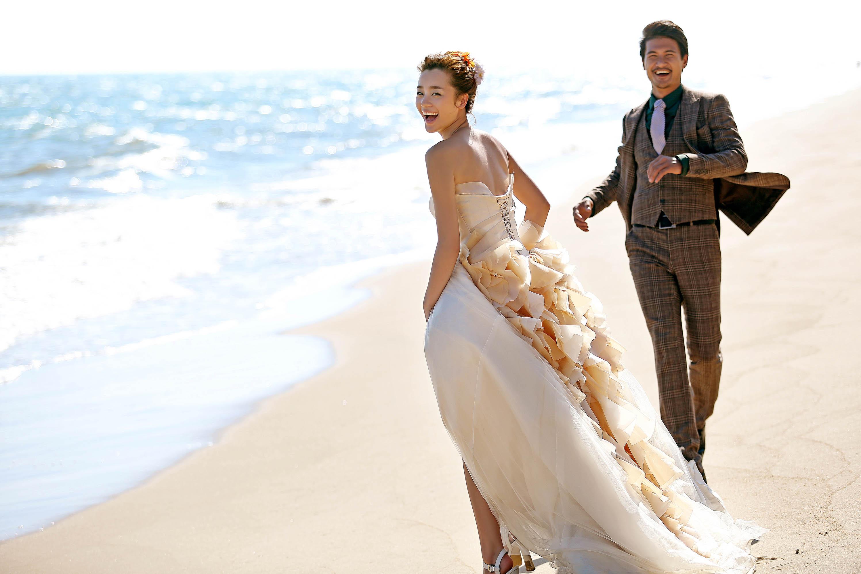 青岛蜜月度假婚纱摄影