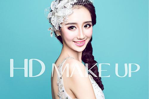 韩式小清新风格新娘造型组图欣赏