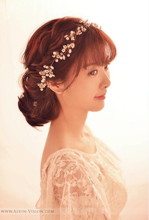 简单大气新娘妆造型 魅力值飙升