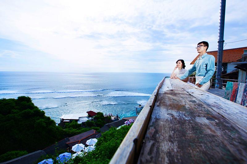 我的浪漫巴厘岛婚礼蜜月