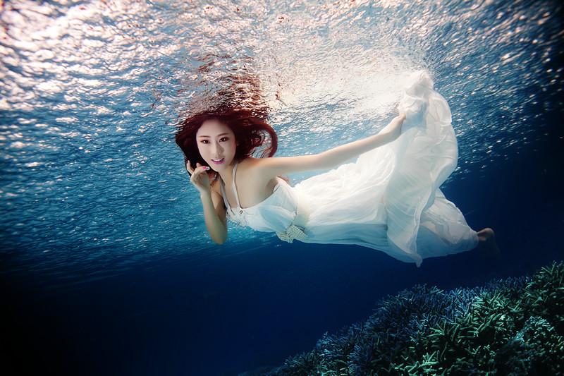 【西安婚纱摄影】水下魅影