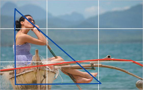 摄影巧构图 标准镜头拍摄的人像摄影作品图片