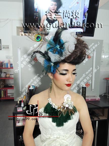 舞台妆面发型分享展示