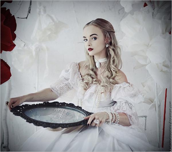 insomnia欧美时尚人像写真摄影大片:童话