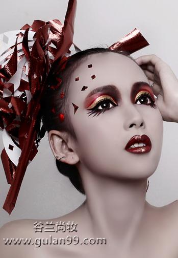 欧式舞台妆造型图片