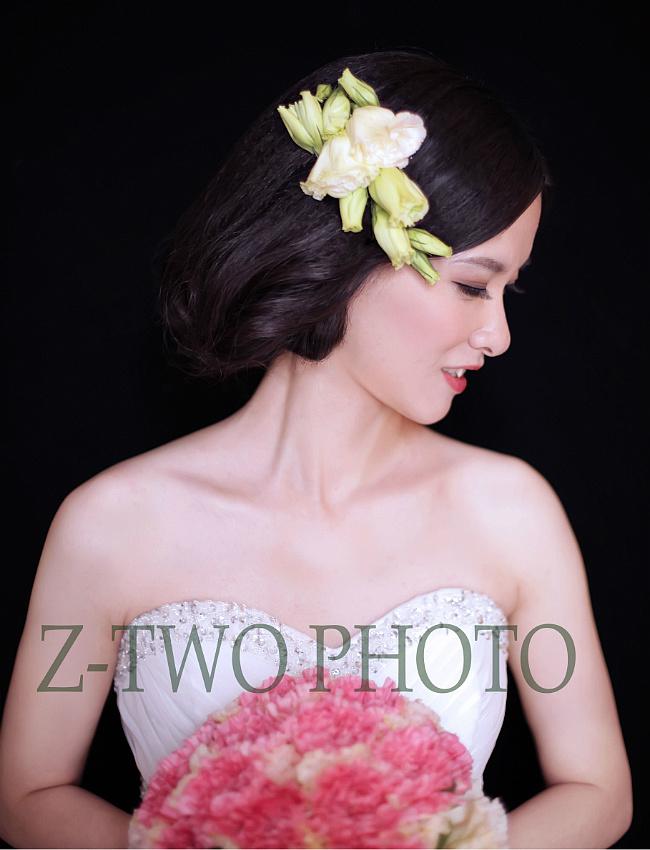 结婚当天新娘化妆造型组图欣赏