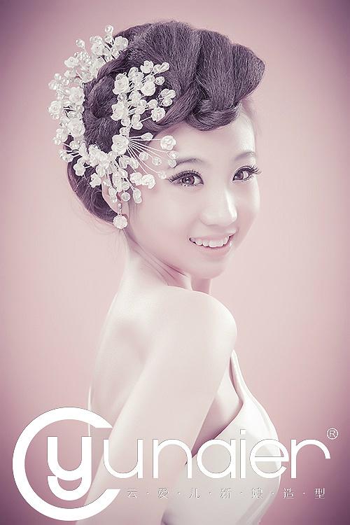欧式复古新娘造型 华丽邂逅浪漫上演(一)