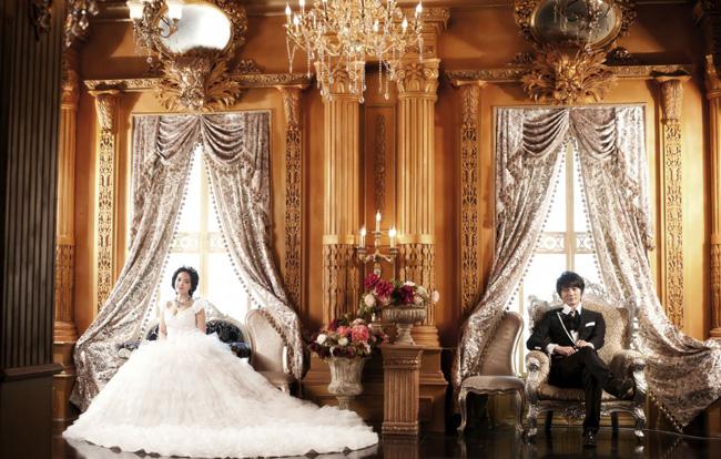 皇宫贵族欧式风格婚纱照-侬侬婚纱摄影