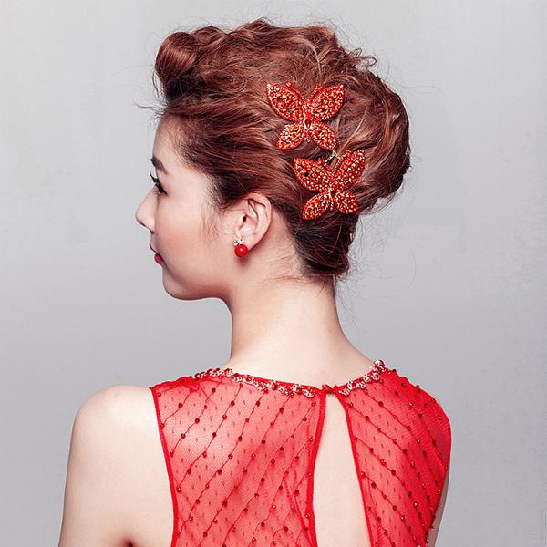 中式新娘造型欣赏 让你的气质飙升