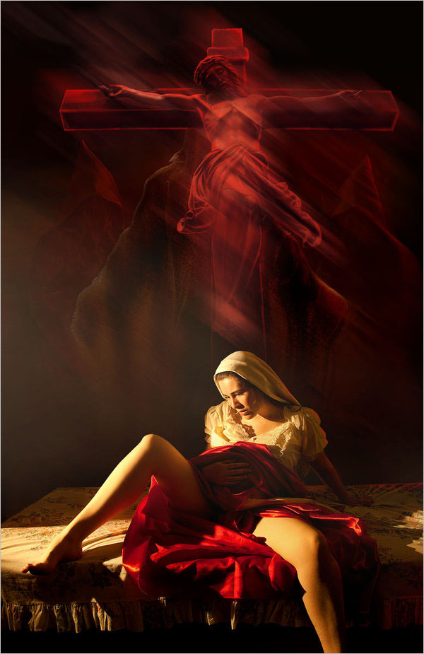 Sasha Fantom超现实人像摄影:魔幻后期 - 牧笛 - ★牧笛(KNIGHT)★世界顶级艺术图典