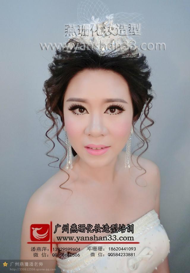 浪漫新娘甜美长发造型