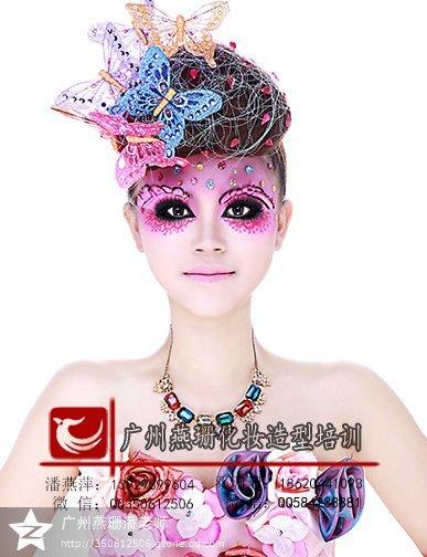 上海彩妆造型_上海时尚彩妆造型图片