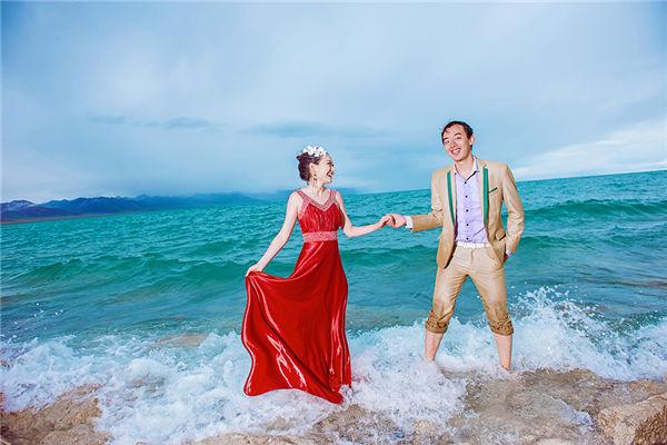 拉萨最美婚纱照 格桑花摄影·圣湖纳木错婚纱照