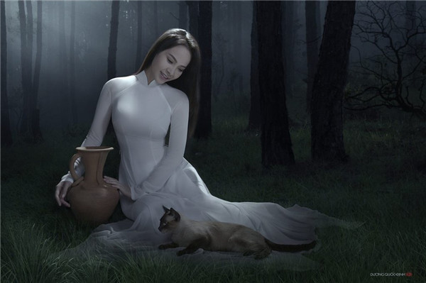 [复古唯美] Duong人像摄影:越南女人的古典柔情与风韵 - 牧笛 - ★牧笛(KNIGHT)城堡★