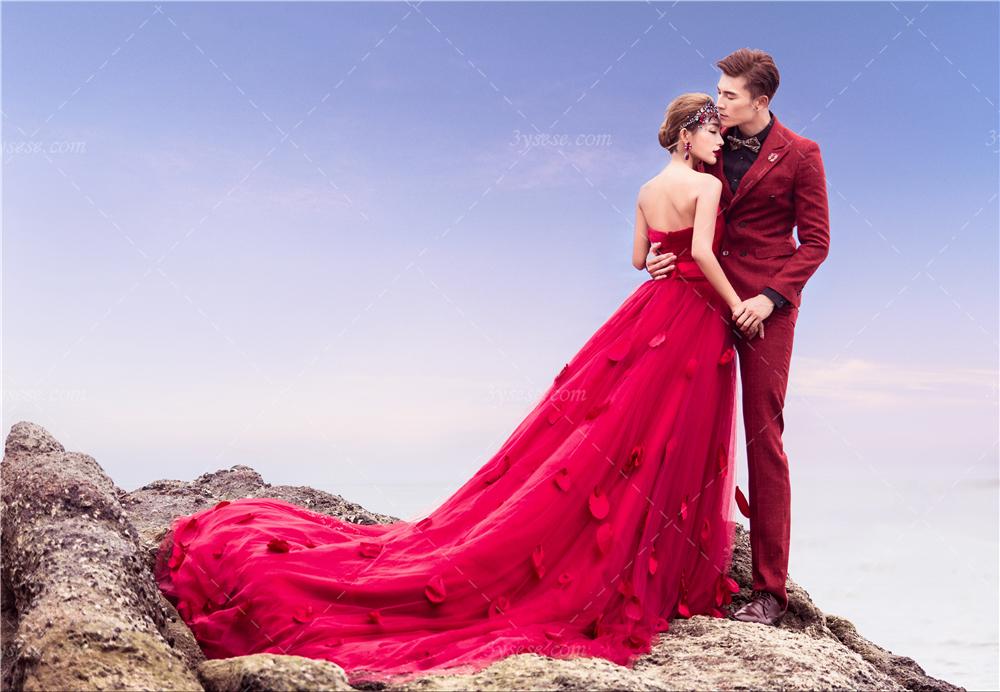 【三亚色色婚纱摄影】色彩特辑-大红色