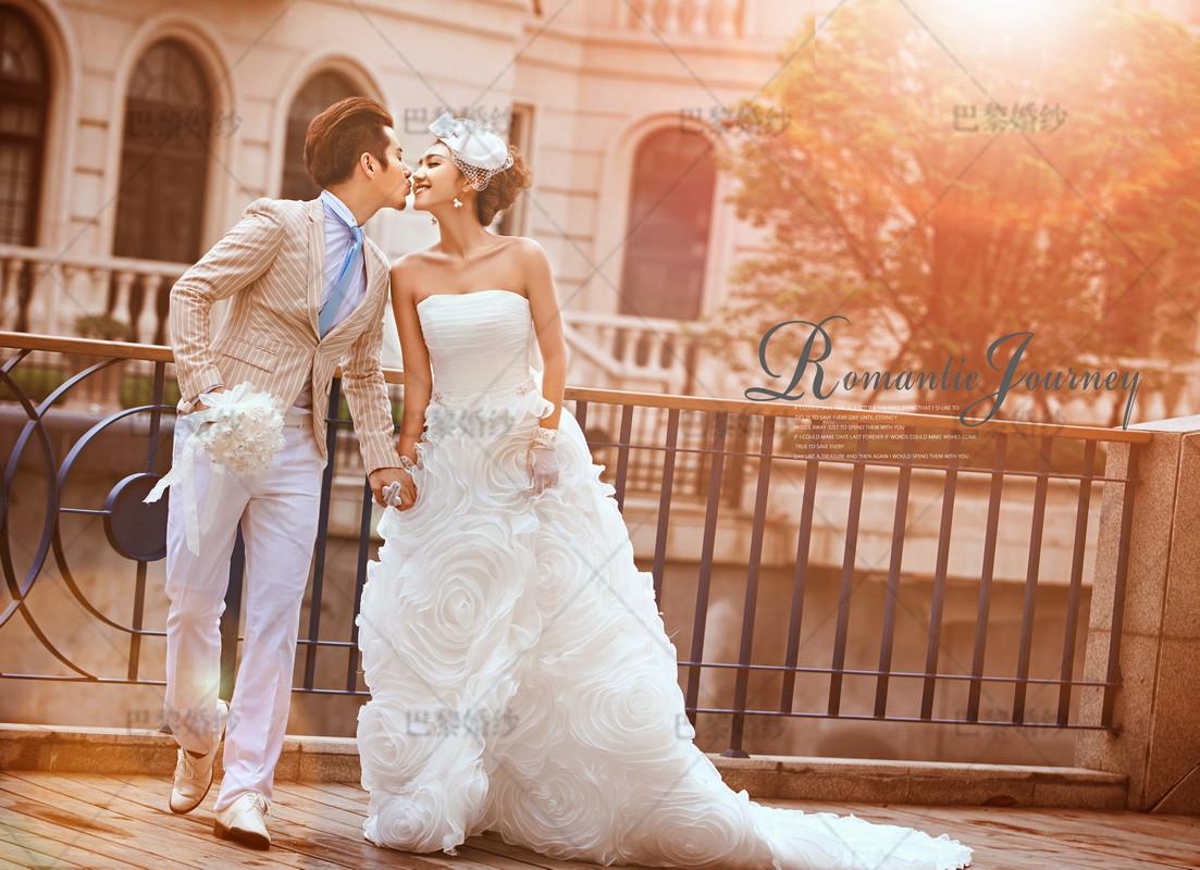 海南时尚巴黎婚纱摄影最新样片欣赏