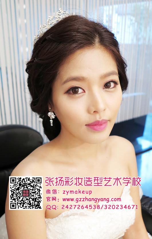 199韩式新娘妆面造型 承接年