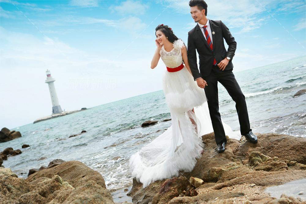 三亚外景婚纱照景点介绍_婚纱摄影作品_黑光论坛
