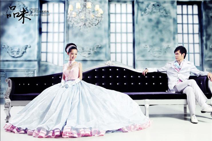 北京东城区婚纱摄影工作室【品味空间】欧式婚纱照